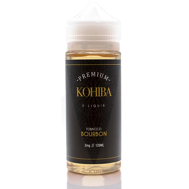 Vape Review of KOHIBA BOURBON TOBACCO EJUICE