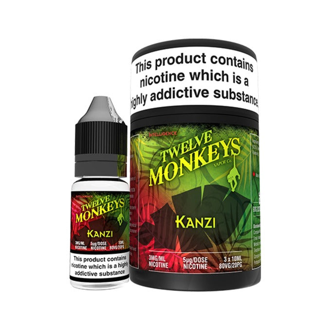 Vape Review of Kanzi E-Liquid by Twelve Monkeys Vapor Co.