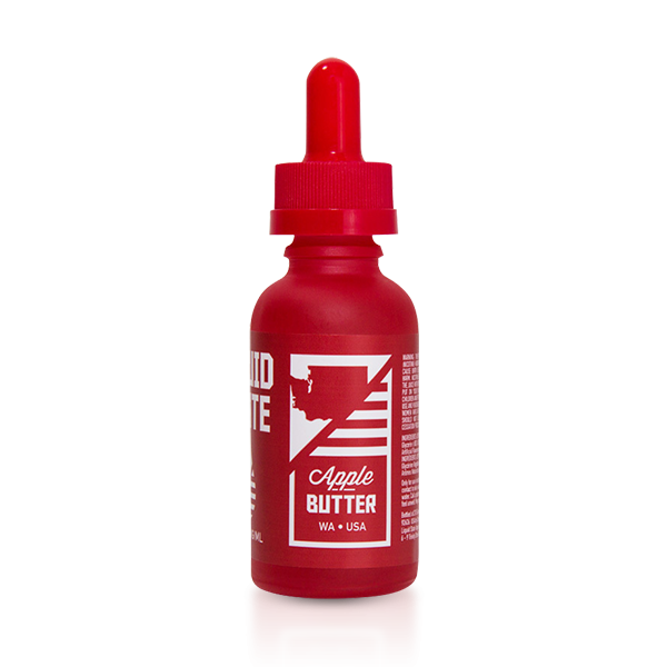 Vape Review of Liquid State Apple Butter E-liquid