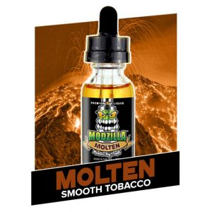 Vape Review of MODZILLA MOLTEN SMOOTH TOBACCO