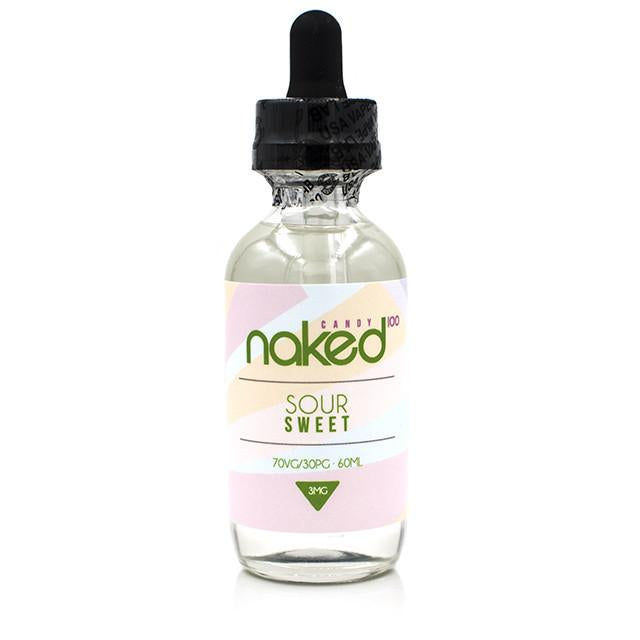 Vape Review of NAKED 100 SOUR SWEET EJUICE