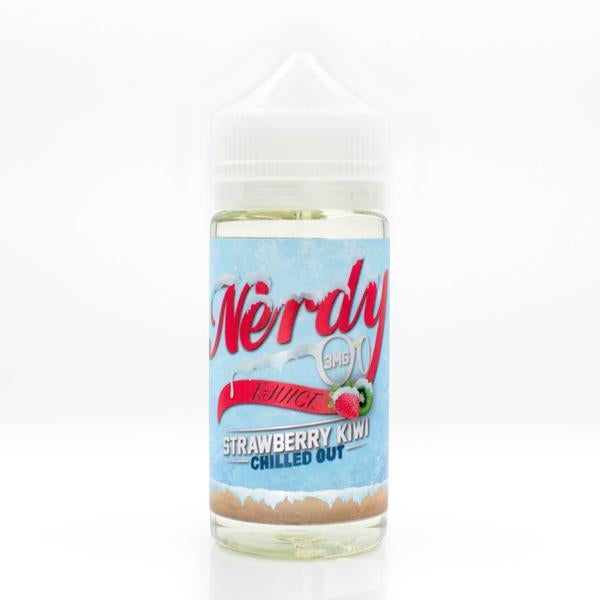 Vape Review of NERDY STRAWBERRY KIWI CHILLED OUT EJUICE
