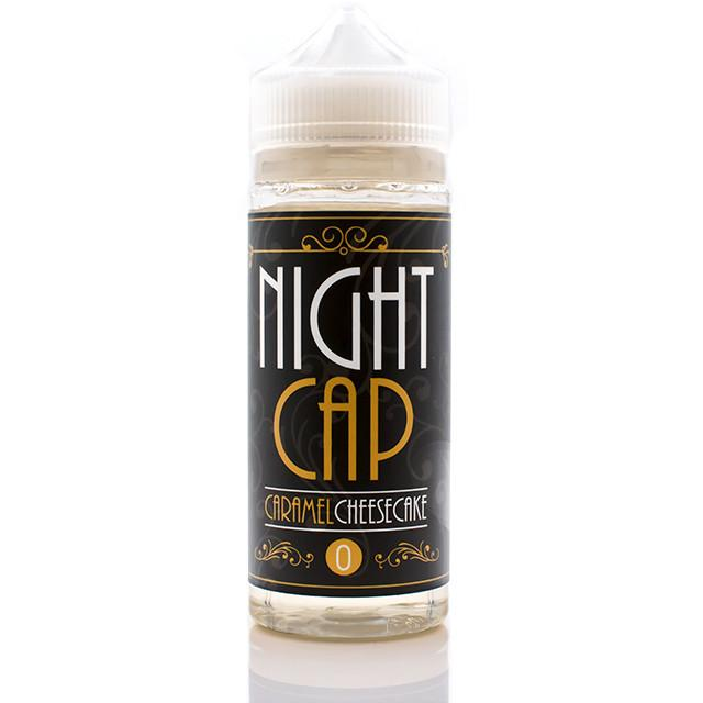 Vape Review of NIGHT CAP CARAMEL CHEESECAKE EJUICE