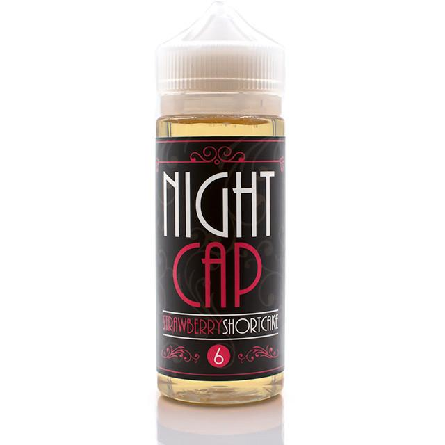 Vape Review of NIGHT CAP STRAWBERRY SHORTCAKE EJUICE