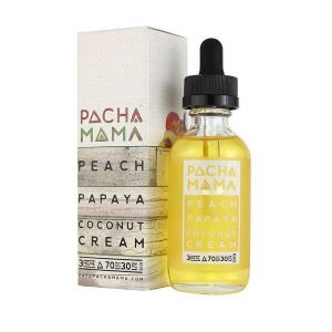 Vape Review of PACHAMAMA PEACH PAPAYA COCONUT CREAM