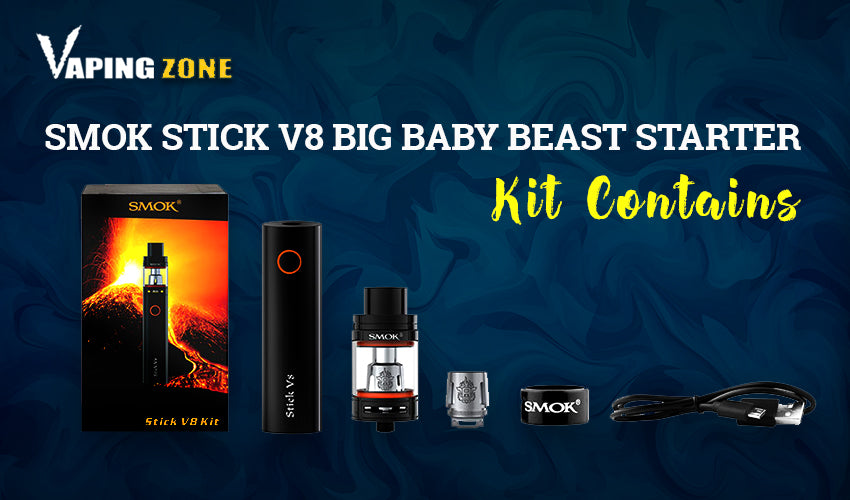 SMOK STICK V8 BIG BABY BEAST STATER KIT