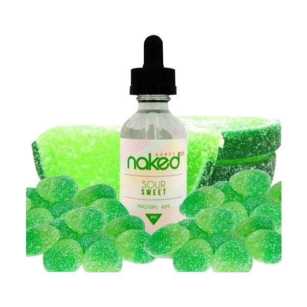 Vape Review of Sour Sweet by Naked 100 E-liquid (60mL)