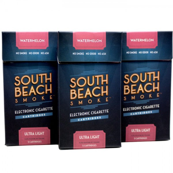 Vape Review of South Beach Smoke Deluxe Plus E-Cigarette Cartridges (15-Pack)