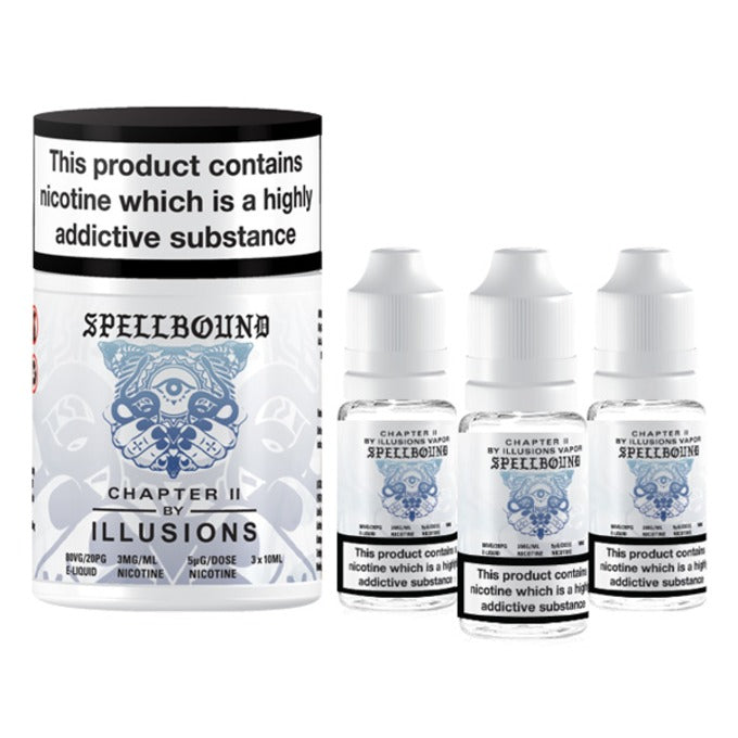 Vape Review of Spellbound E-Liquid by Illusions Vapor