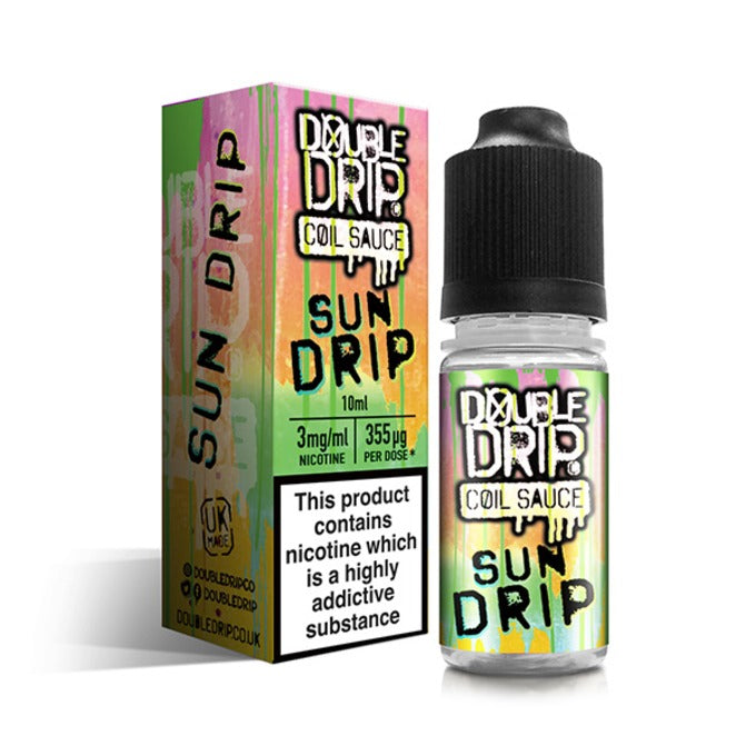 Vape Review of Sun Drip Coil Sauce by Double Drip 10ml