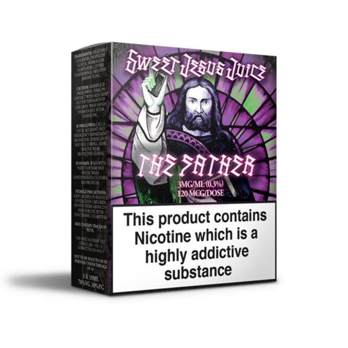 Vape Review of The Father E-Liquid by Sweet Jesus Juice