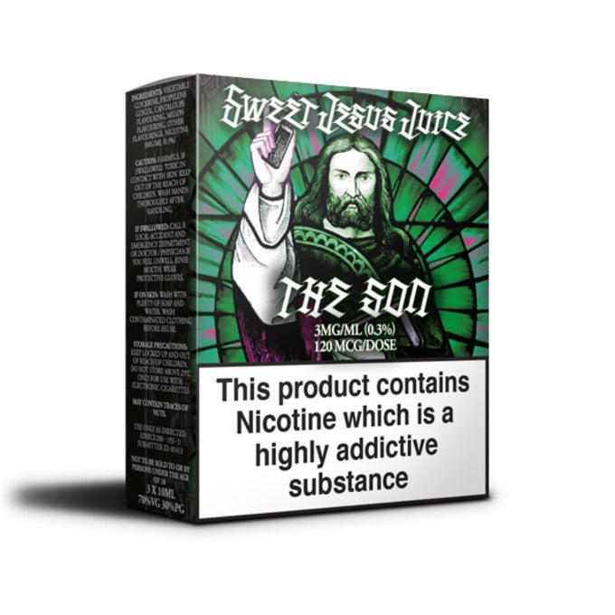Vape Review of The Son E-Liquid by Sweet Jesus Juice