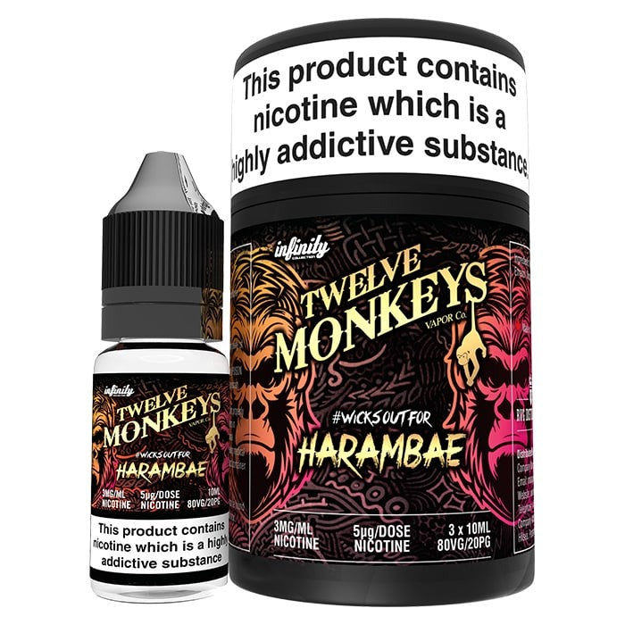 Vape Review of Twelve Monkeys - Harambae