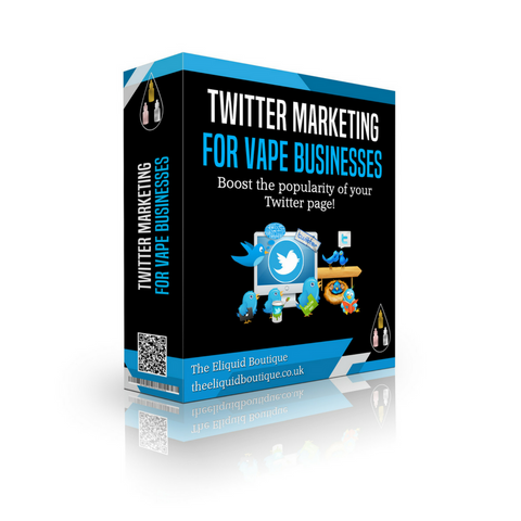 Twitter Vape Shop Social Media Marketing