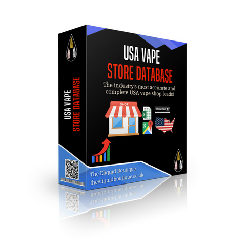 USA Vape Shop Database