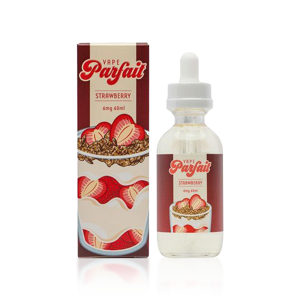 Vape Review of Vape Parfait Strawberry E-liquid by Vapetasia (60ML)