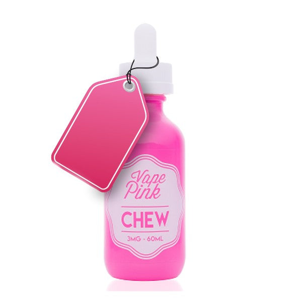Vape Review of Vape Pink Chew E-liquid (60ML)