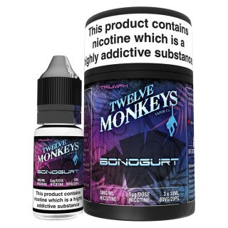Vape Review of Twelve Monkeys - Bonogurt