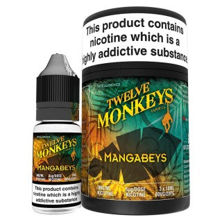 Vape Review of Twelve Monkeys - Mangabeys E-Liquid