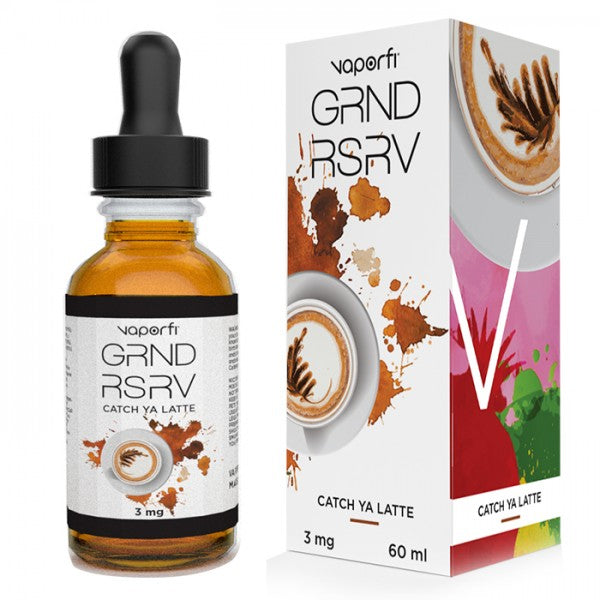 Vape Review of VaporFi GRND RSRV Catch Ya Latte E-liquid (60ML)