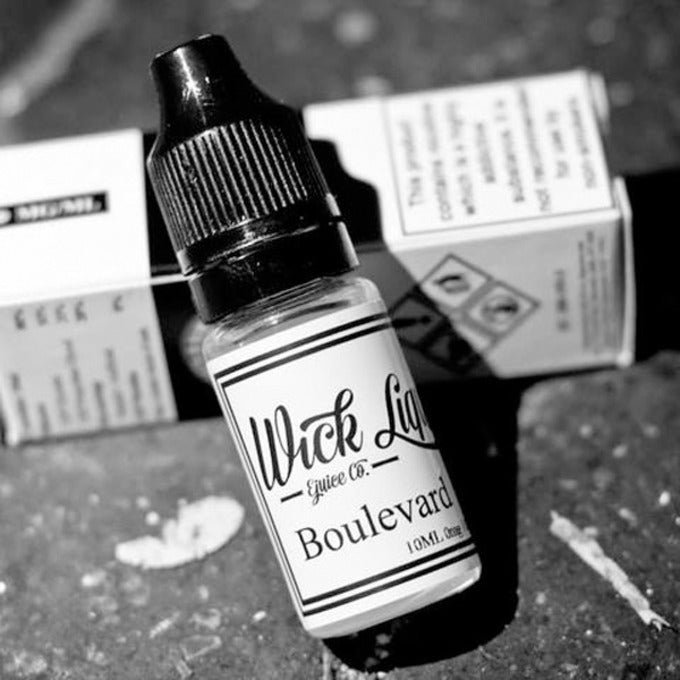 Vape Review of Wick Liquor Boulevard E-Juice