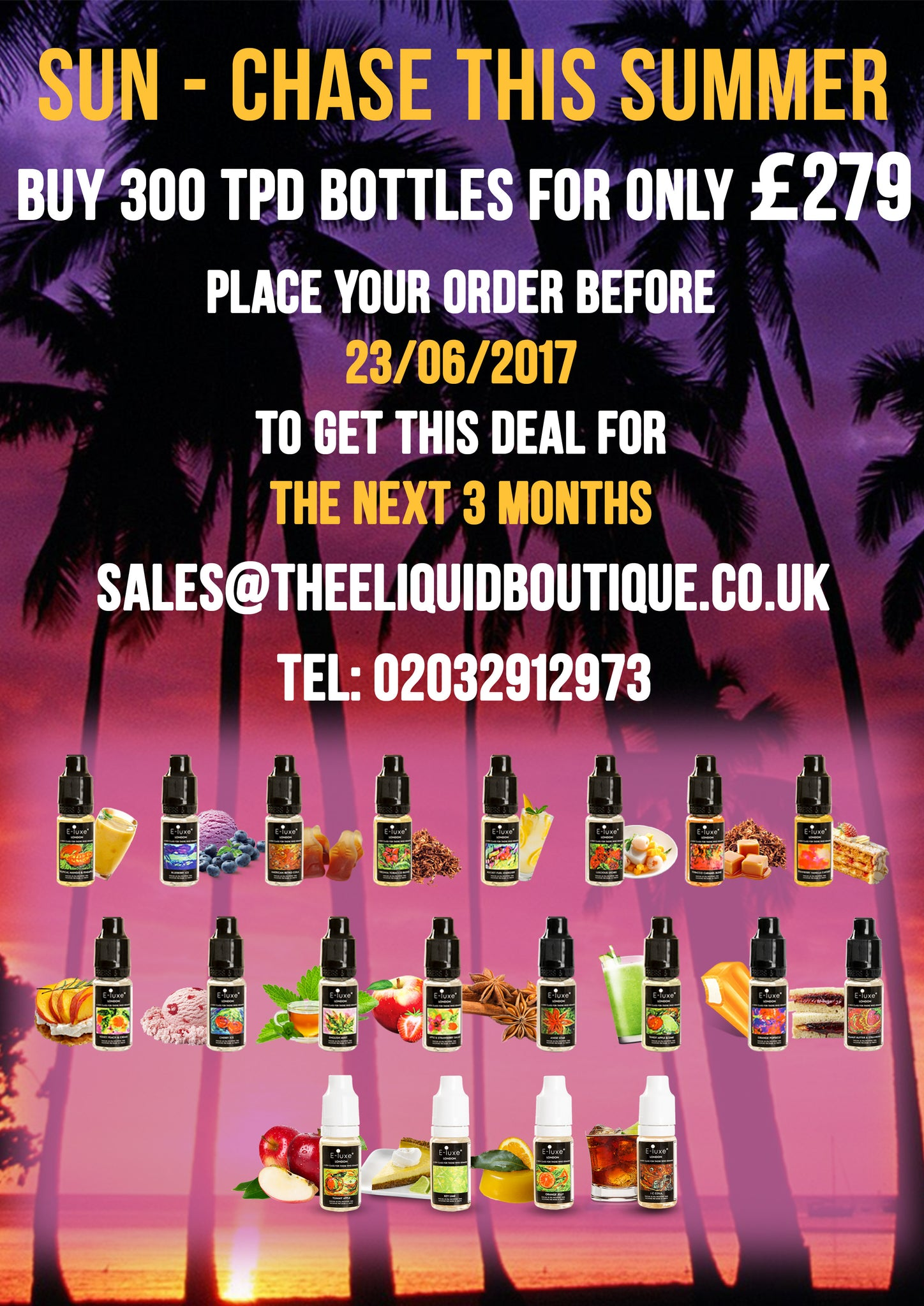 E-Luxe Premium E-Liquid Wholesale UK