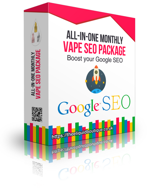 vape seo and vape marketing package