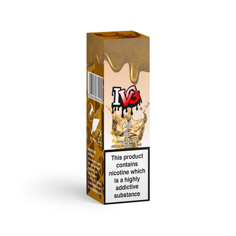 IVG Cola Ice Premium E-Liquid 6mg 10ml by Acme Vape Lab