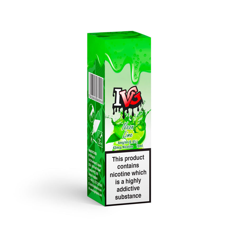 IVG ELiquid Neon Lime 6mg 10ml
