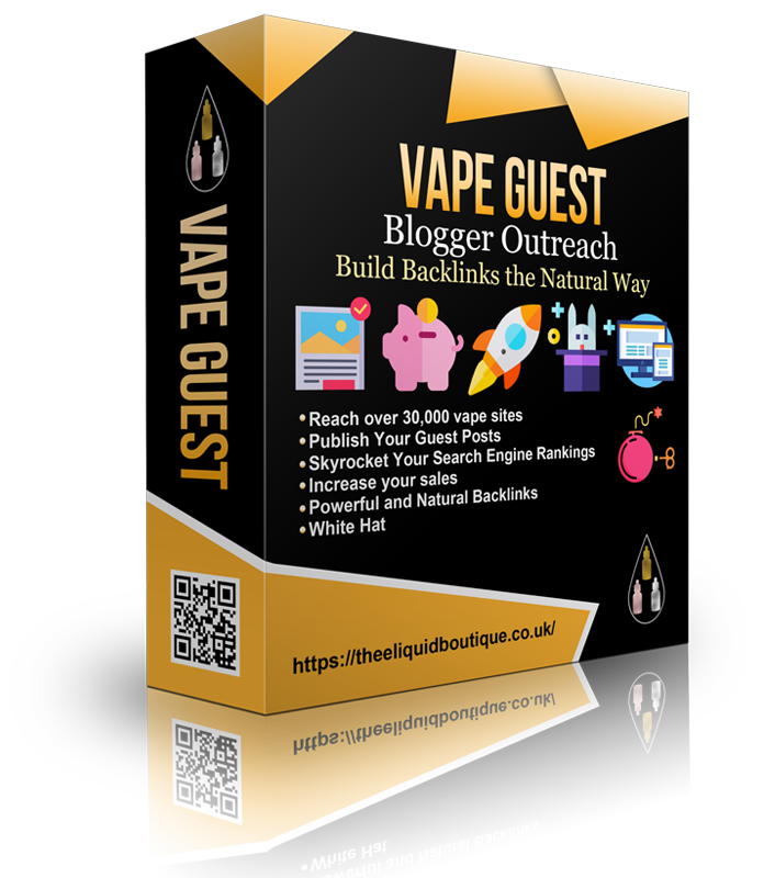 Guest Post Outreach Campaign to All Vape Sites