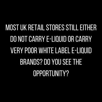 UK Retail Shops Database - sell your e-liquid to uk newsagents, convenience stores, grocery shops, tobacconists and vape shops