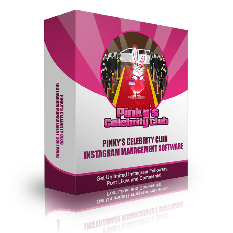 Pinky's Celebrity Club Instagram Management Software