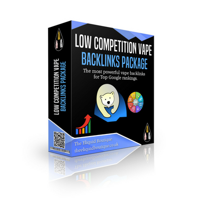 Low Competition Vape Backlinks Package