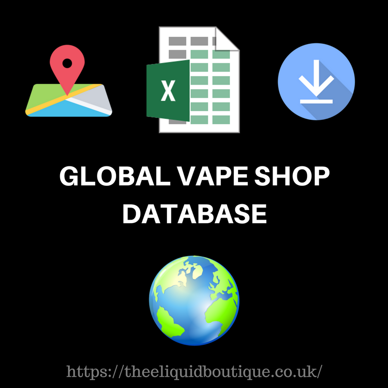 canada vape shop database