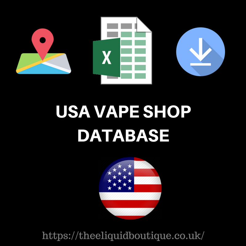 USA Vape Store Database