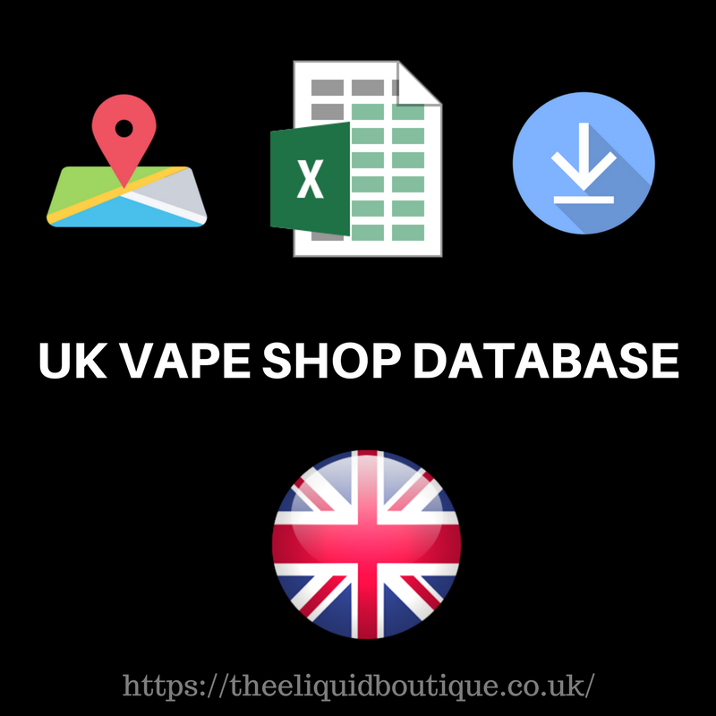 usa vape shop database with vape shop contact details