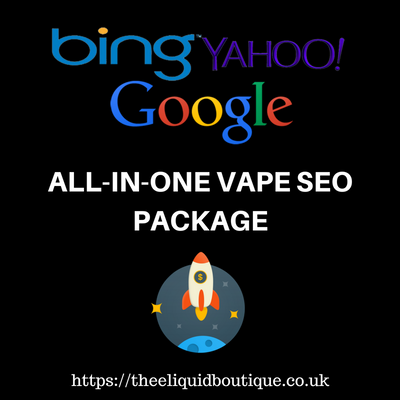 ALL-IN-ONE Turbo-Charged Monthly Vape SEO Package