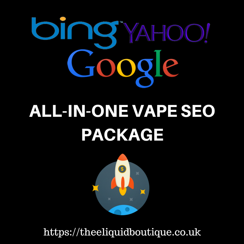 ALL-IN-ONE Turbo-Charged Monthly Vape SEO Backlinks Package