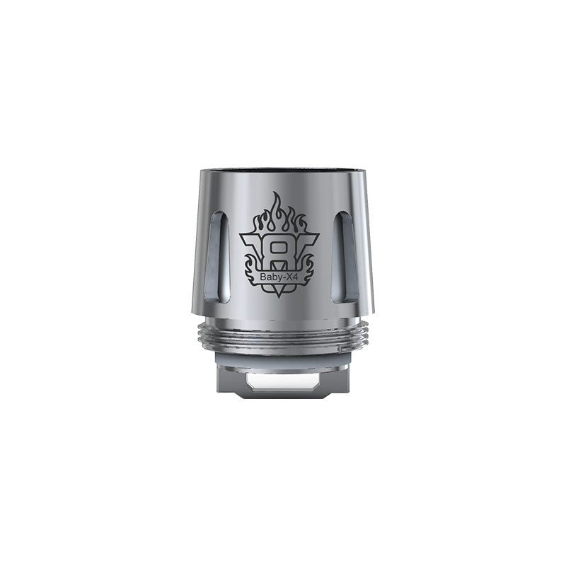 Smok V8 X-Baby T6 Replacement Vape Coils [X4 Core]