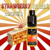 Strawberry Vanilla Custard - Premium E-Liquid by E-Luxe London - 3mg nicotine - 50vg 50pg
