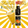 Tropical Mango & Pineapple - Premium E-Liquid by E-Luxe London - 3mg nicotine - 50vg 50pg