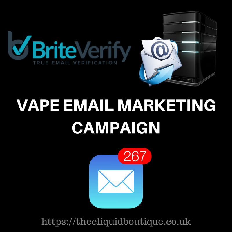 uk vape shop database with contact details