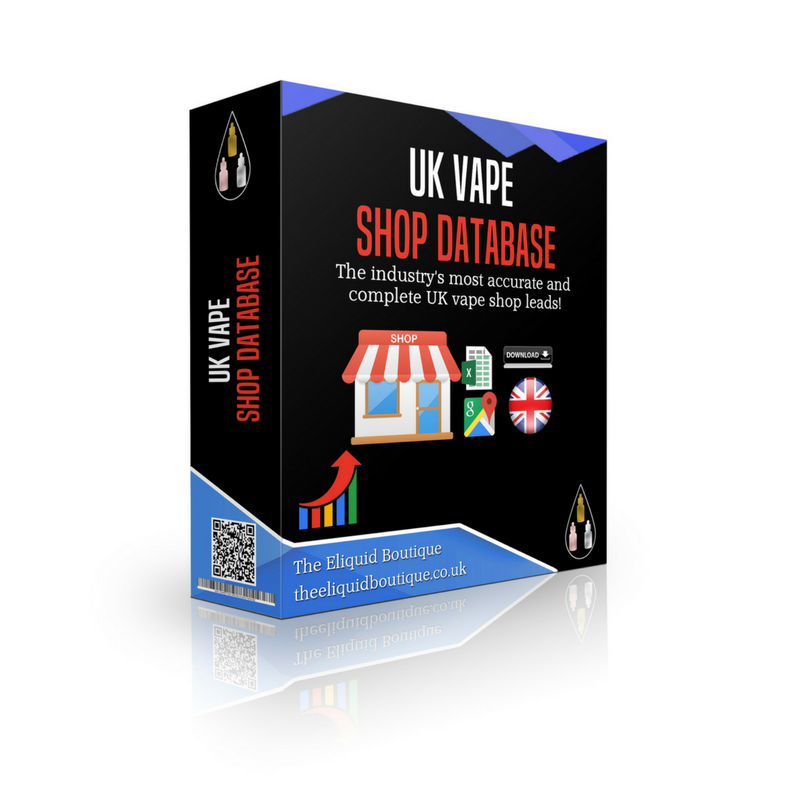 UK Vape Shop Database