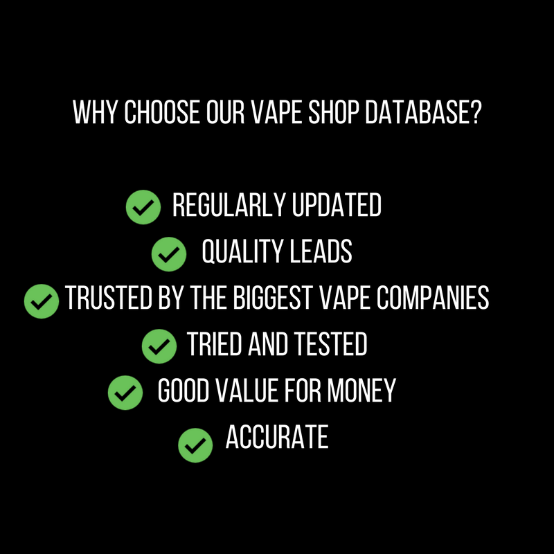 Datascrapingpro i will give you a global vape shop database