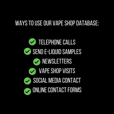 USA Vape Store Database - vape shops in usa