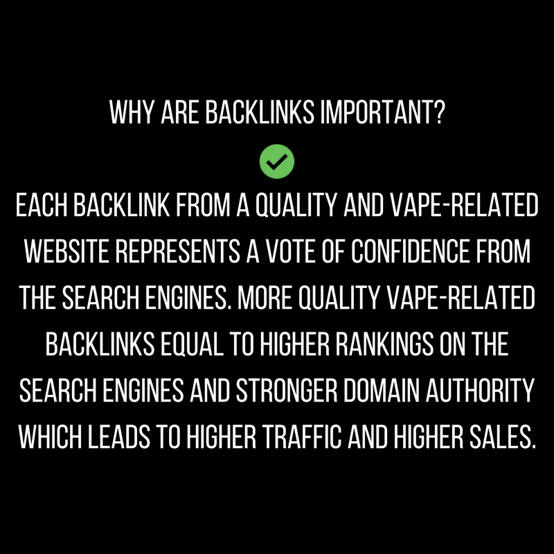 theeliquidboutique i will create low competition vape backlinks package