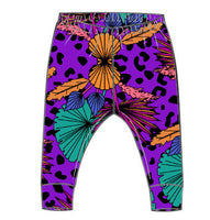 Purple Palm Leggings