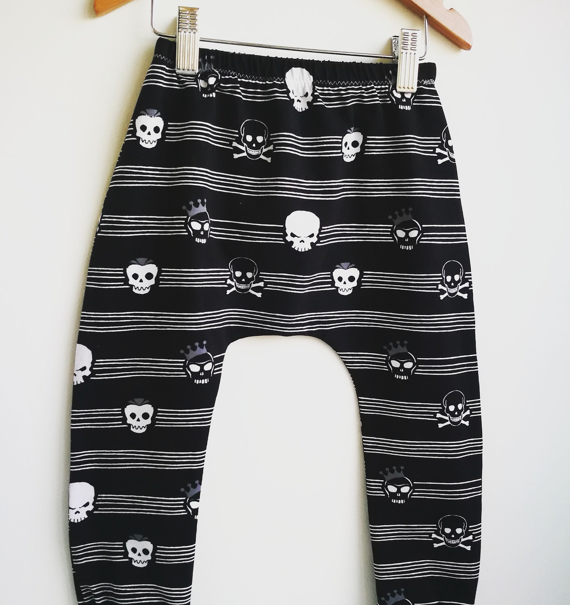 Skull Mono Leggings & Shorts