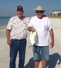 Bluewater outriggers for Pompano beach fishing report