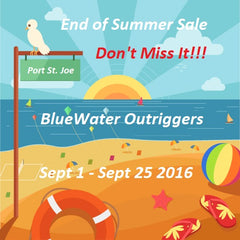 Sale BlueWater Outriggers